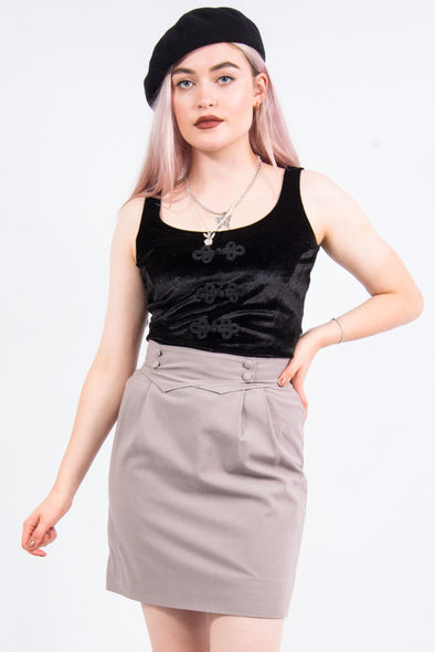 Vintage 90's Pencil Mini Skirt