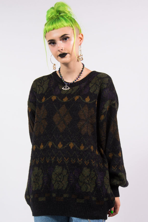 Vintage 90's Grunge Knit Sweater