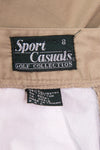 Vintage 90's Beige High Waist Mom Shorts