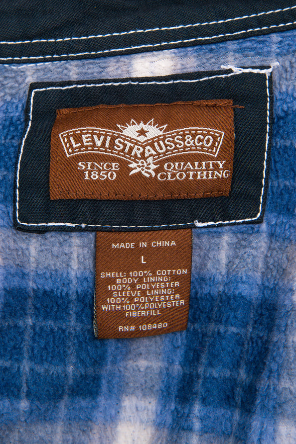 Vintage Levi's Fleece Lined Over Shirt