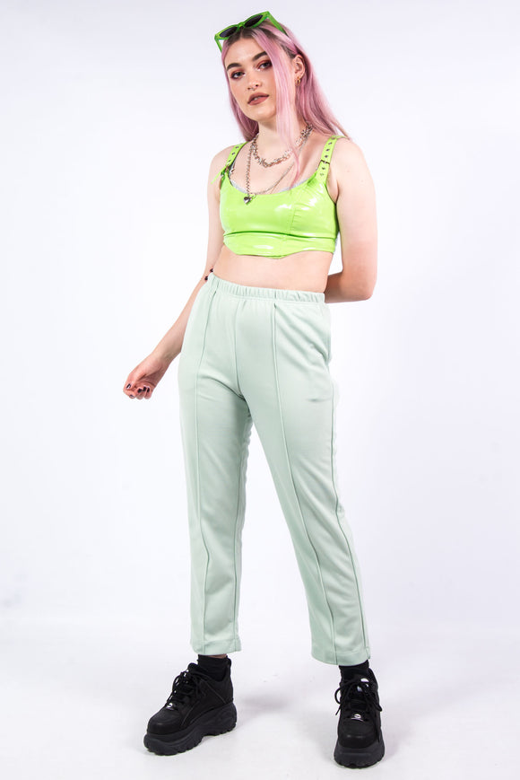 Vintage 90's Mint Green High Waist Trousers