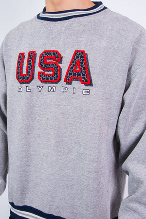 Vintage 90's USA Olympic Sweatshirt Atlanta 1996