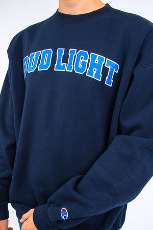 Vintage Champion Bud Light Sweatshirt