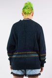 Vintage 90's Winter Pattern Knit Jumper