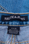 Vintage Y2K Nautica Distressed Denim Shorts