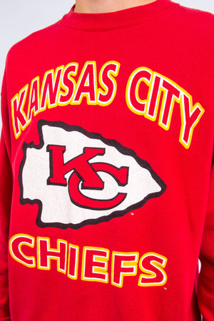 Vintage 90's Kansas City Chiefs NFL Sweatshirt