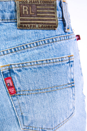 Vintage 90's Ralph Lauren Denim Shorts