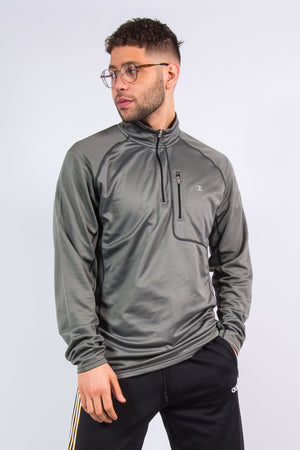 Champion 1/4 Zip Sports Sweatshirt