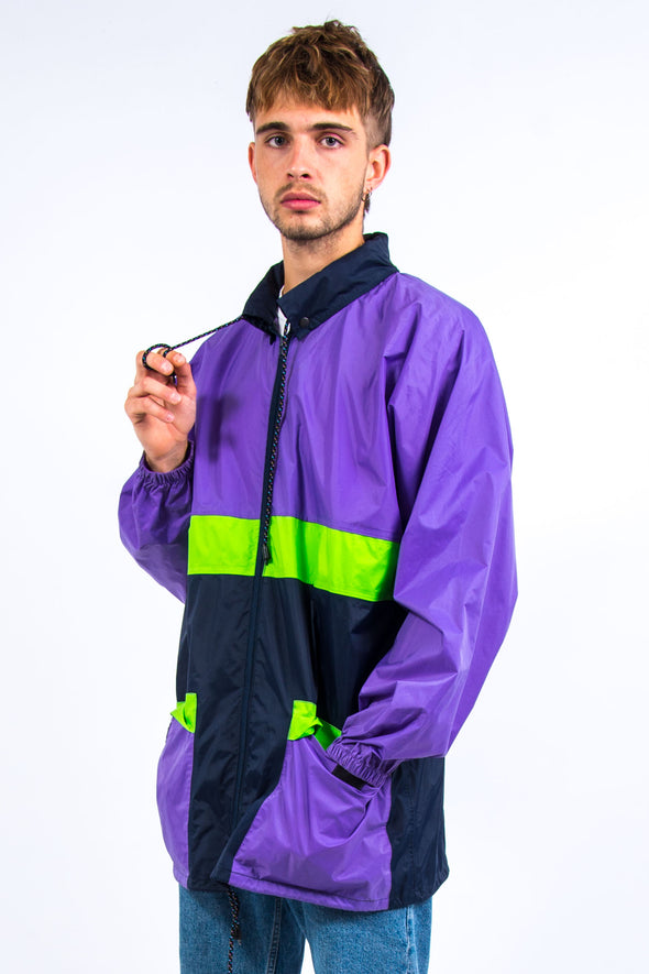 90's Vintage Waterproof Rain Jacket