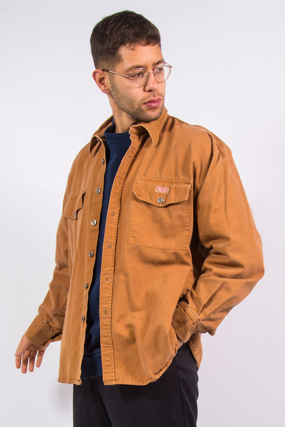 Vintage Dickies Heavy Canvas Work Shirt