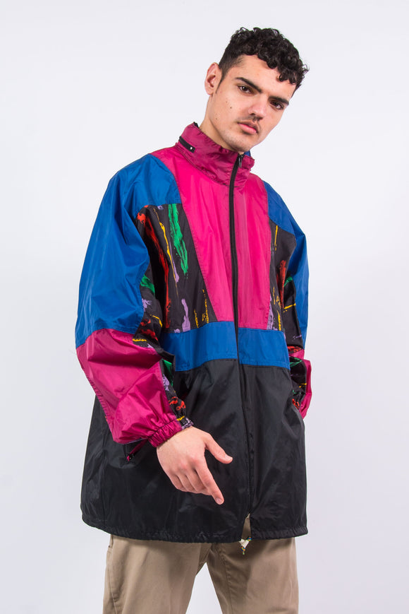 90's Waterproof Cagoule Rain Jacket