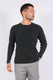 Polo Jeans Ralph Lauren Black Ribbed Knit Jumper