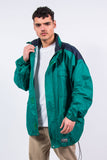 90's Waterproof Rain Jacket Festival Windbreaker