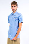 Vintage Pale Blue USA Work Shirt