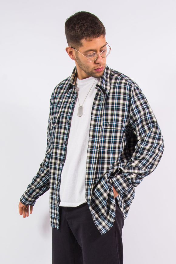 00's Timberland Check Pattern Shirt