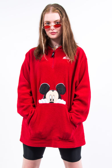 Vintage Disney Mickey Mouse Fleece Hoodie