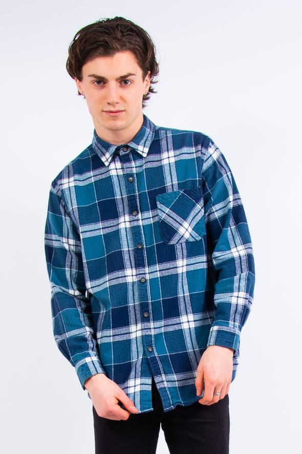 00's Vintage Thick Flannel Shirt