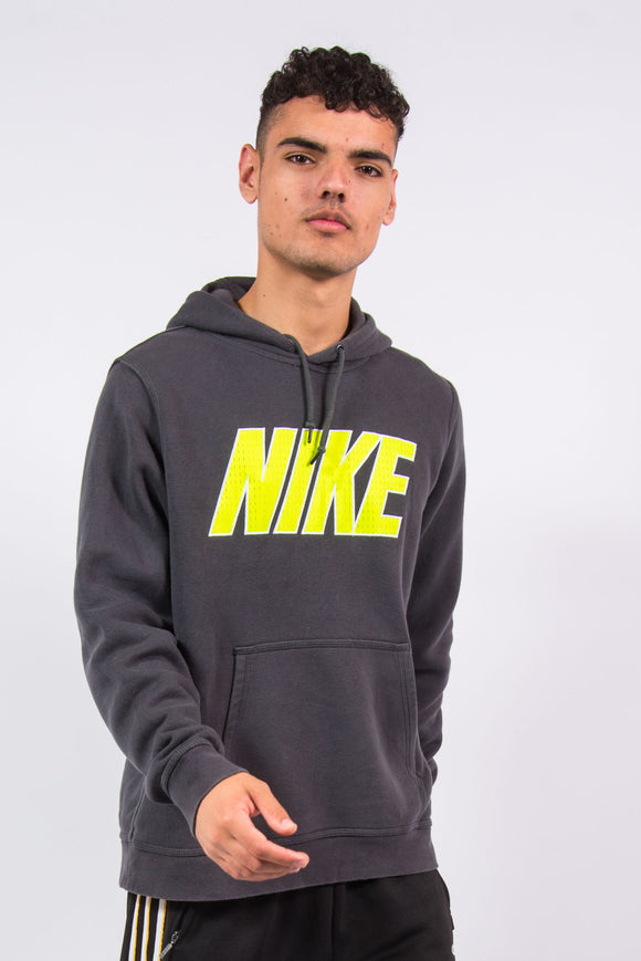 Nike Spell Out Neon Logo Hoodie