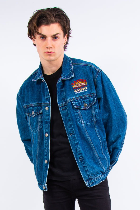 Vintage Sandia Casino Denim Jacket