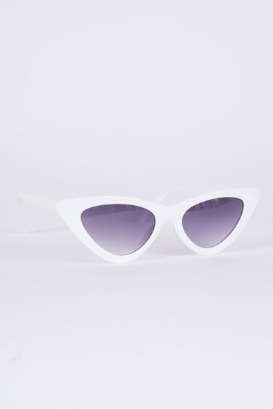 Y2K White Dionne Sunglasses