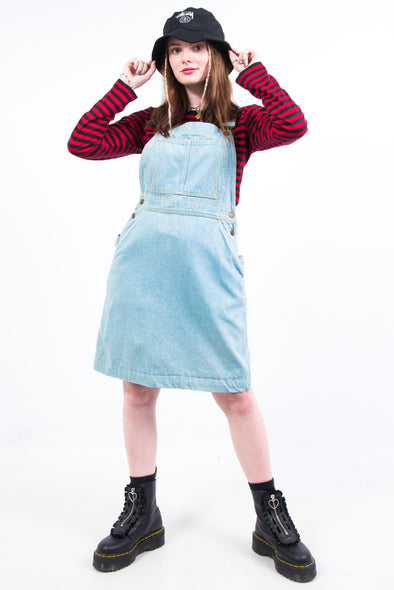Vintage 90's Denim Dungaree Dress