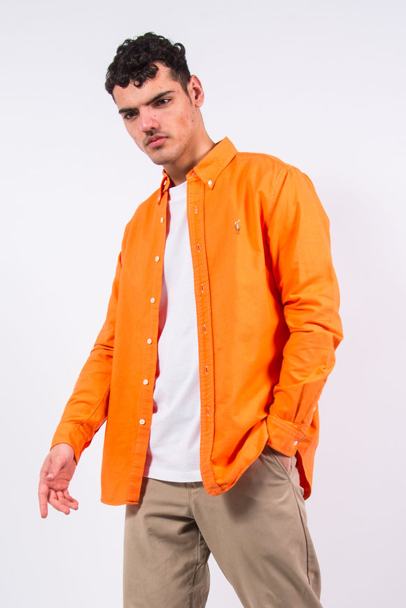 Vintage Ralph Lauren Orange Shirt
