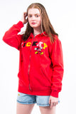 Vintage Disney Mickey Mouse Zip Hoodie Sweatshirt