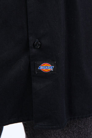 Vintage Dickies USA Black Work Shirt