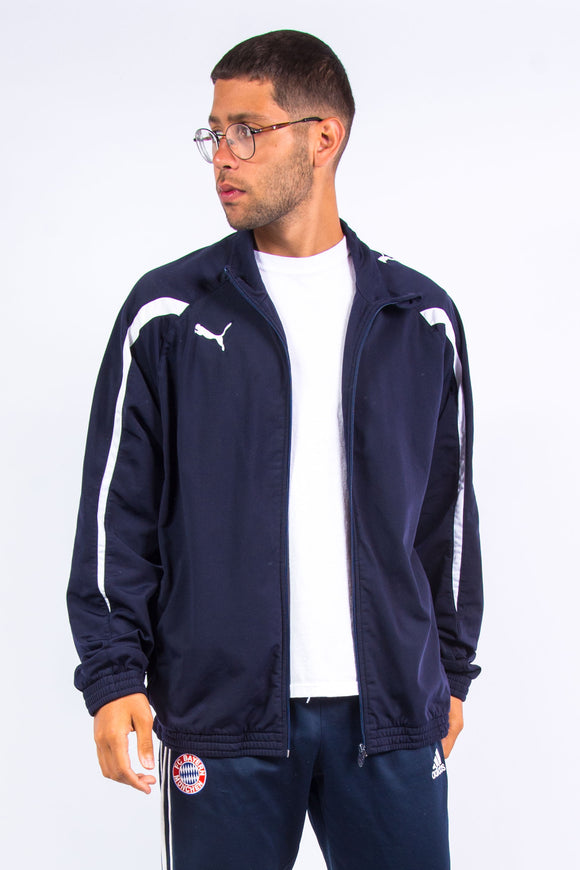 Puma Navy Blue Tracksuit Top
