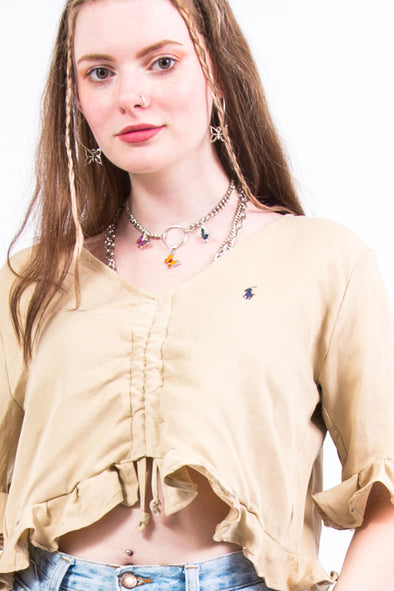 Rework Ralph Lauren Prairie Top