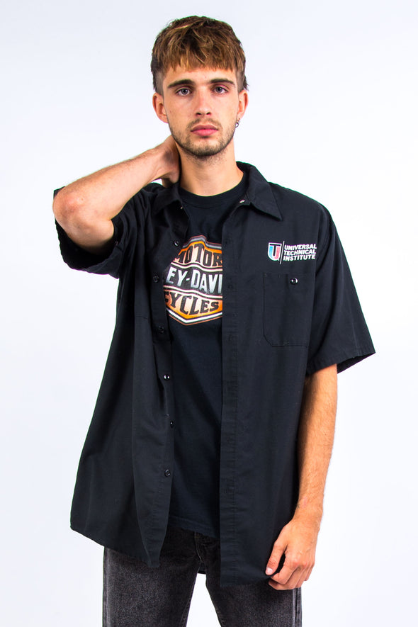 Vintage Short Sleeve USA Work Shirt