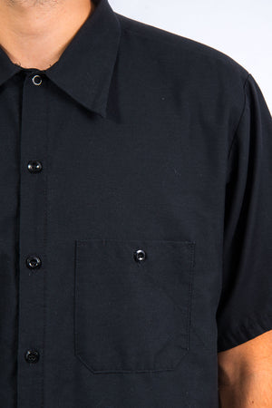 Vintage Black USA Work Shirt