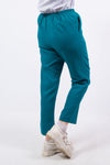 Vintage 90's Teal Green High Waist Trousers
