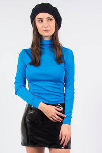 Vintage 70's Roll Neck Top
