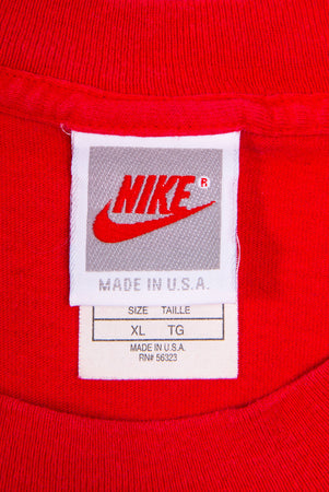 "Vintage Nike ""Kick Some Butt"" USA made T-Shirt"