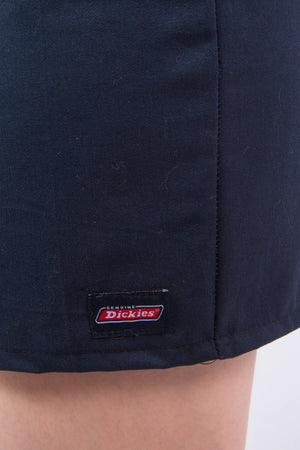 Vintage Rework Navy Blue Dickies Mini Skirt