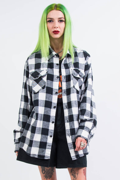 Vintage 90's Buffalo Check Flannel Shirt