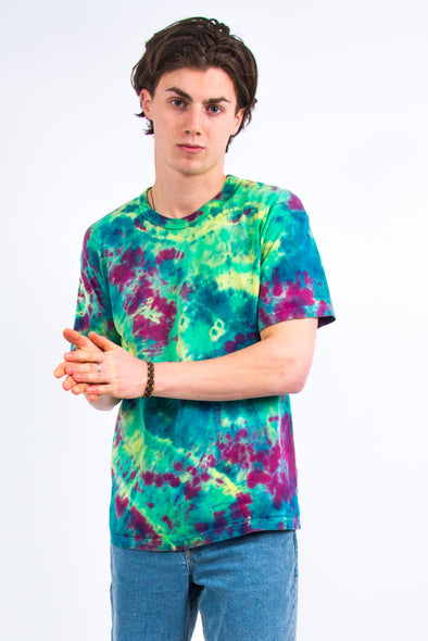 Vintage Psychedelic Pattern Tie Dye T-Shirt