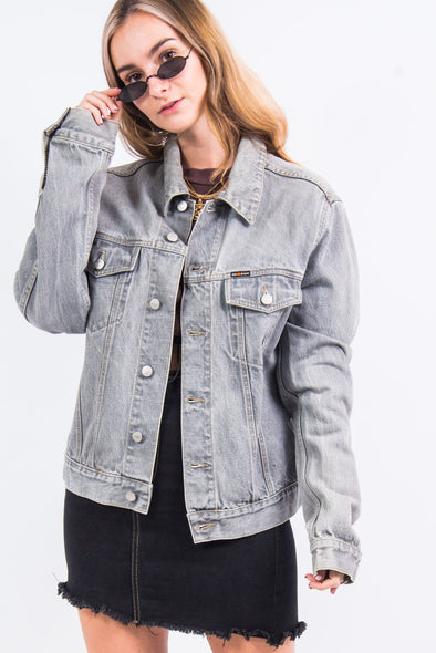 Vintage 90's Energie Grey Denim Jacket
