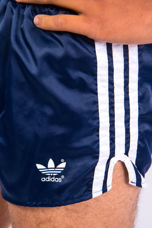 80's Adidas Navy Sprinter Shorts