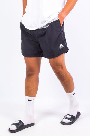 00's Adidas Spell Out Beach Shorts