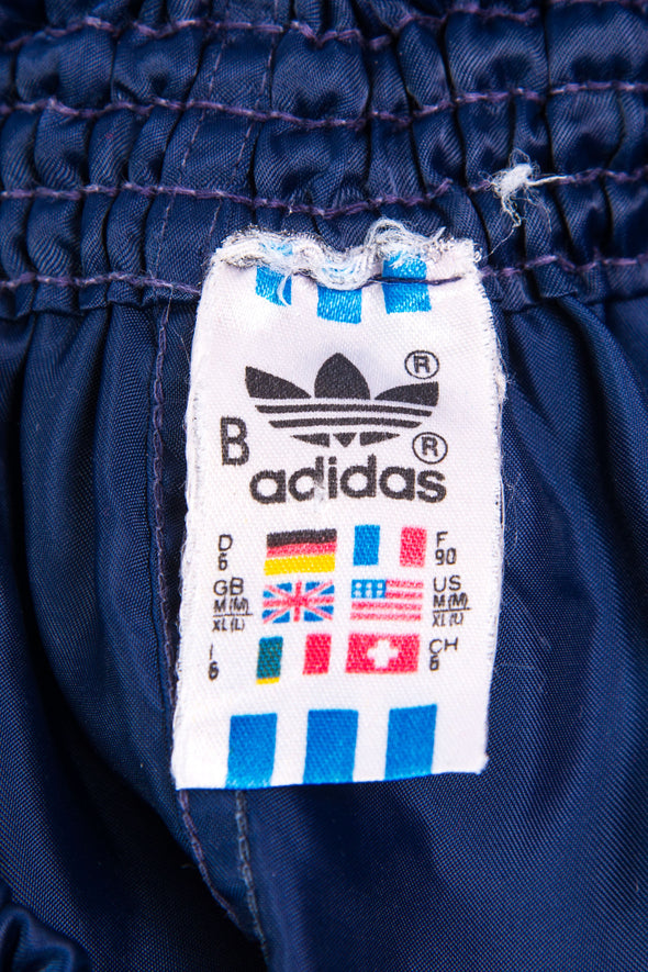 80's vintage Adidas made in West Germany glanz style sprinter short shorts