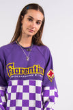Vintage 90's Checkerboard Racing Sweatshirt
