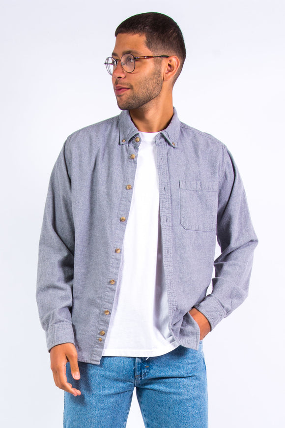Eddie Bauer Plain Flannel Shirt