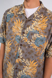 Vintage Hawaiian Patterned Shirt