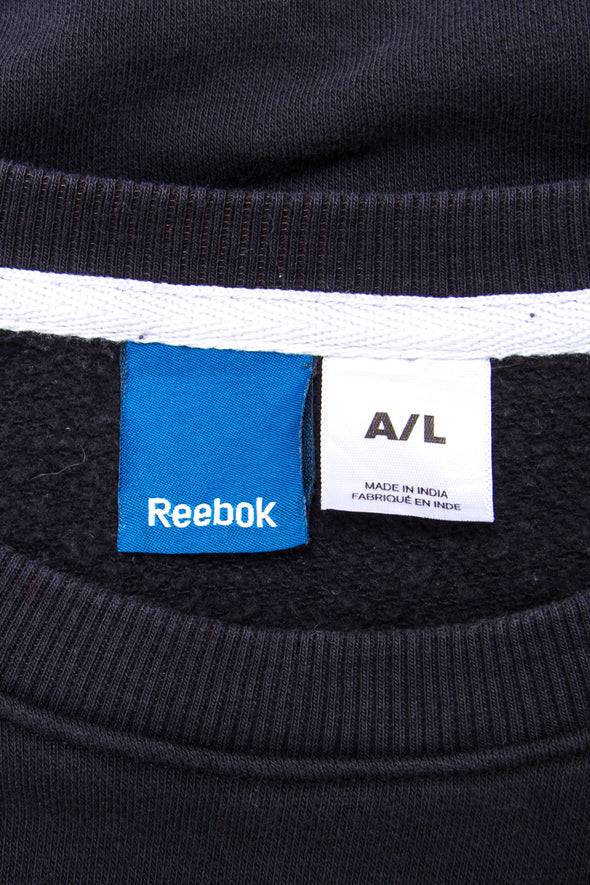 Reebok Graphic Print Sports Sweatshirt