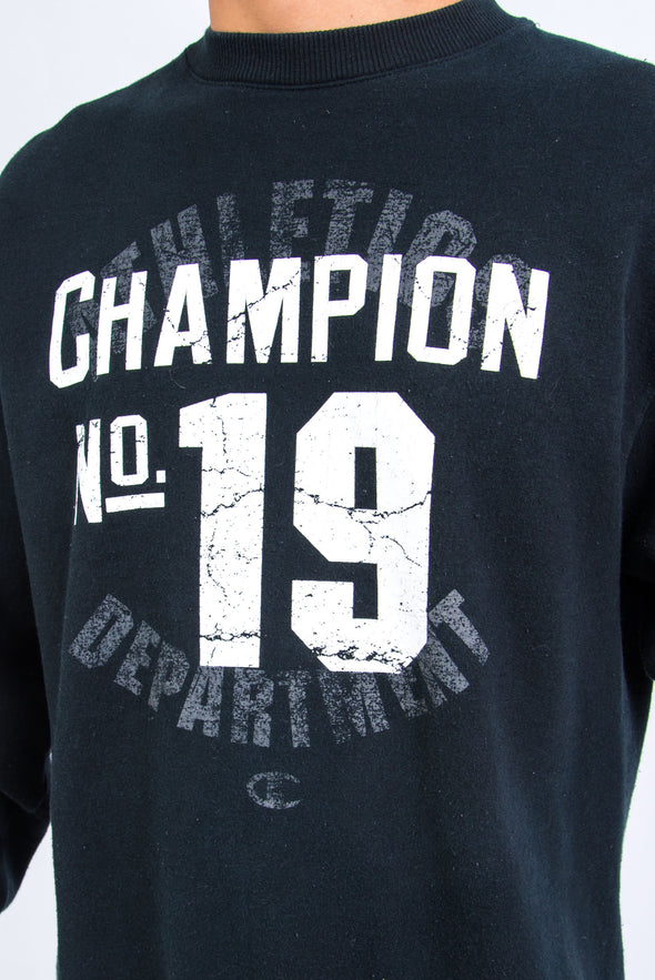 Champion Graphic Print Sweatshirt