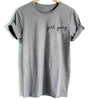 Small Letter Girl Gang T-shirt