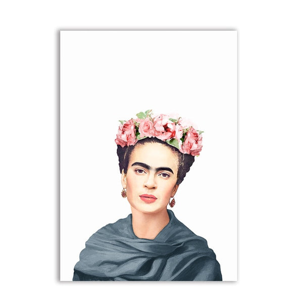 Frida Poster Home Decor