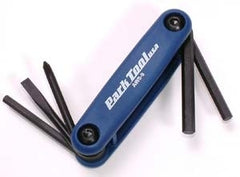 Park Tool Folding Allen Key And Screwdriver Set